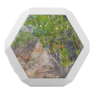 Grapes on the Vine in Napa Valley California White Bluetooth Speaker