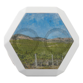Grapevines in Napa Valley California White Bluetooth Speaker