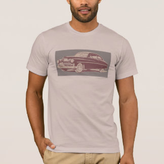 Graphic art of 1949 Mercury coupe T-Shirt