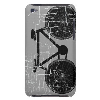 graphic black bicycle art iPod touch cover