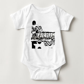 Graphic Designer Baby Bodysuit