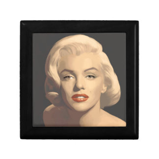 Graphic Gray Marilyn Gift Box