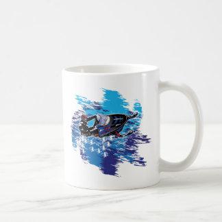 Graphic Snowmobiler Coffee Mug