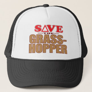 Grasshopper Save Trucker Hat
