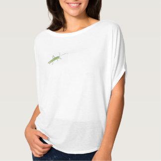 Grasshopper Women's Bella Flowy Circle Top, White T-Shirt