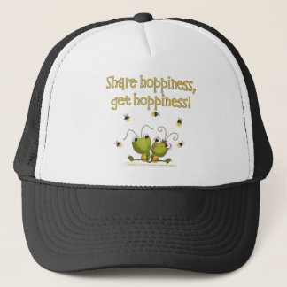 Grasshoppers Share Hoppiness Trucker Hat