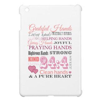 Grateful hands iPad mini cover
