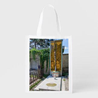 Grave Of Ernst Fuchs Reusable Grocery Bag