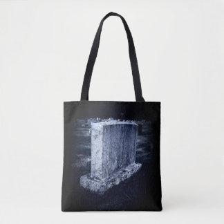 Grave Print All-Over-Print Tote Bag