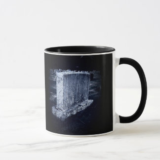 Gravestone Halloween Themed 11 oz Ringer Mug
