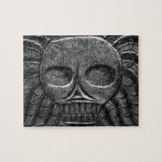 Gravestone Skull Puzzle