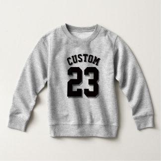 Gray & Black Toddler | Sports Jersey Sweatshirt