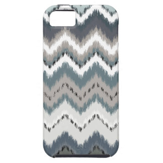Gray Ikat Chevron Case For The iPhone 5