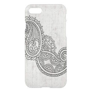 Gray Mehndi Motif Uncommon iPhone 7 Case