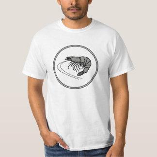 Gray Prawn - Fish Prawn Crab Collection T-Shirt