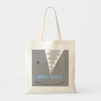 Gray Shark Tote Bag