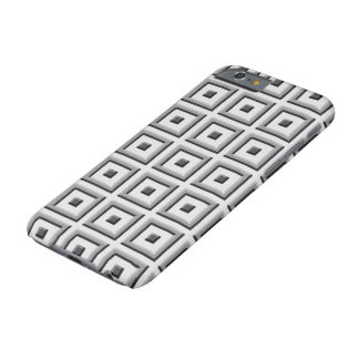 Gray Solid Squares on Gray iPhone 6 Case