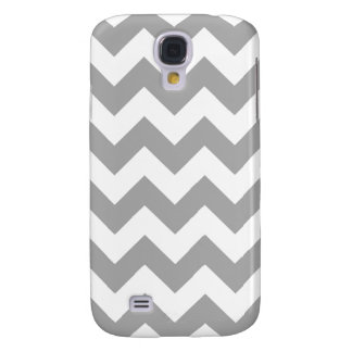 Gray Zigzag Pattern Galaxy S4 Case