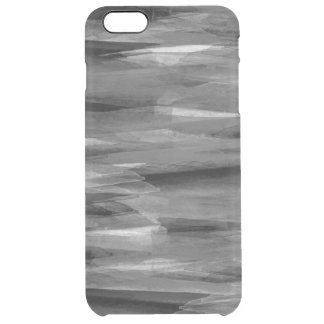 Grayscale Abstract Feathers iPhone Case