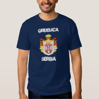 Grdelica, Serbia with coat of arms Shirts
