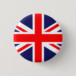 Great Britain Union Jack 3 Cm Round Badge