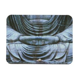 Great Buddha Detail, Kotokuji Temple, Kamakura, 2 Rectangular Photo Magnet