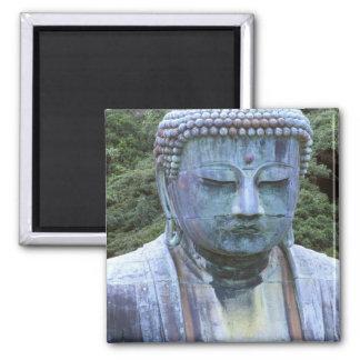 Great Buddha Detail, Kotokuji Temple, Square Magnet