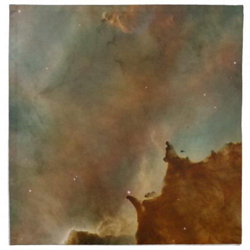 Great Clouds of the Corina Nebula Napkins