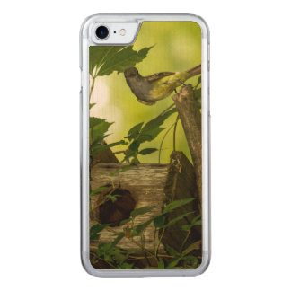 Great Crested Flycatcher Carved iPhone 8/7 Case