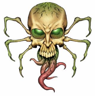 Great Cthulhu Alien Spider Skull Lovecraftian Art Standing Photo Sculpture