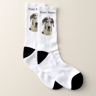 Great Dane dog Socks