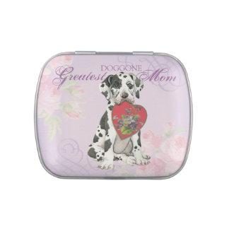 Great Dane Heart Mom Candy Tin
