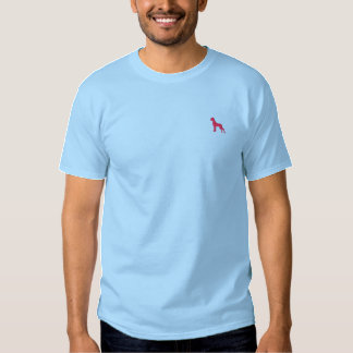 Great dane logo embroidered T-Shirt