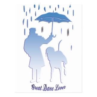 Great Dane Lover Post Cards