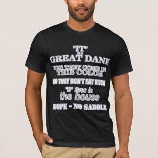 Great Dane Walking Answers Dark T-Shirt