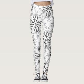 Great Danes Black and White Leggings