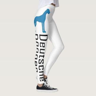 Great Danes blue Leggings