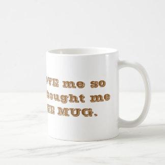 Great FATHERS DAY coffee mug. Basic White Mug