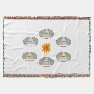 """Great Gift! """"The Light Of My Life"""" Throw Blanket"""
