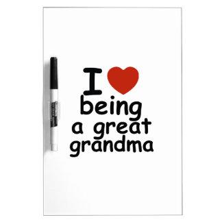 great grandma design dry erase board