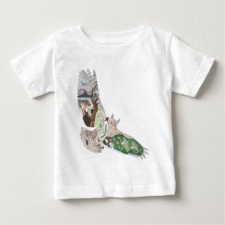 Great Horned Owl Habitat Baby T-Shirt