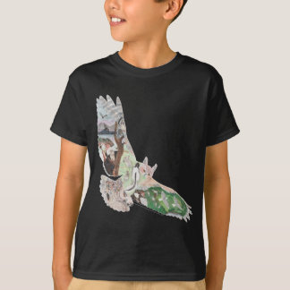 Great Horned Owl Habitat T-Shirt