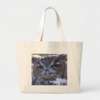Great Horned Owl on a tote bag