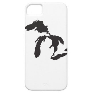 Great Lakes Custom Illustration iPhone 5 Covers