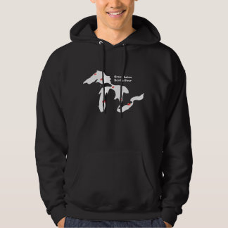 Great Lakes Scuba Diver - Black Hoodie
