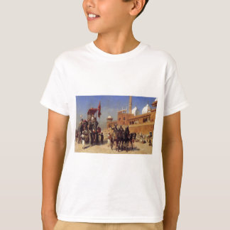 Great Mogul And His Court Returning From The Great T-Shirt