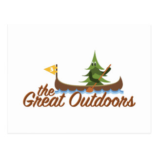 Great Outdoors Postcard