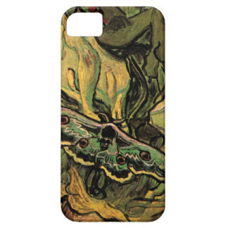 Great Peacock Moth by Vincent van Gogh iPhone 5 Cases