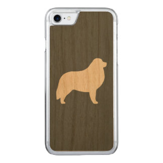 Great Pyrenees Silhouette Carved iPhone 8/7 Case