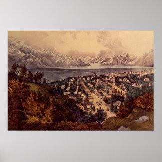 Great Salt Lake, Utah Poster